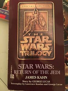 Star Wars Return of the Jedi special edition paperback