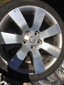 Holden commodore wheels 18 inch alloy Caloundra Caloundra Area Preview
