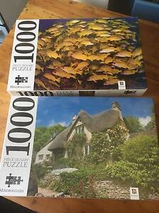 2 x Brand new 1000 piece puzzles Lockleys West Torrens Area Preview