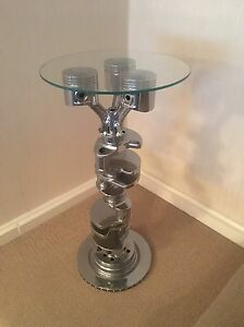 Engine Coffee Side Table - V8 V10 V12 Block Crank Table