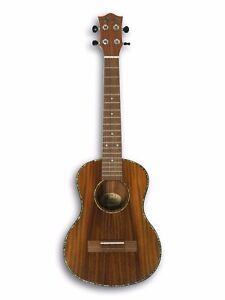 Tenor Acoustic Ukulele, Koa Wood Top & Body, Walnut Wood Fingerboard BT-150