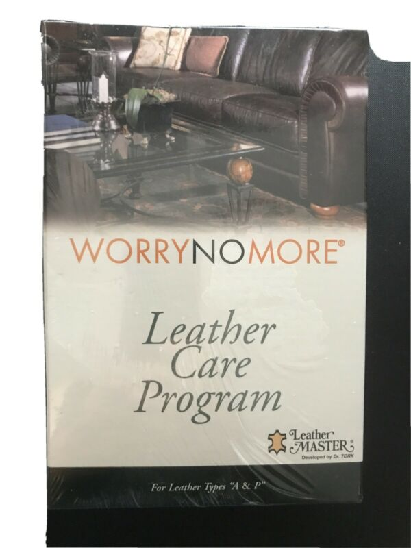 WorryNoMore Leather Care Program - New - Free Shipping
