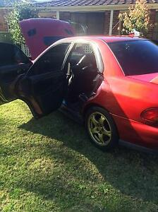 2000 Subaru WRX Bligh Park Hawkesbury Area Preview