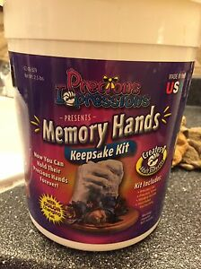 Memory Hands Kit! Super Neat Gift for a New mother!