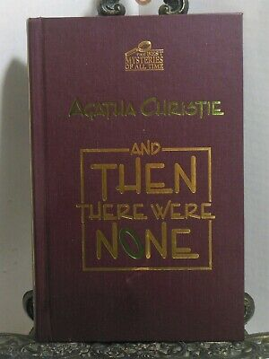 And Then There Wear None by Agatha Christie ImPress Best Mysteries of All Times