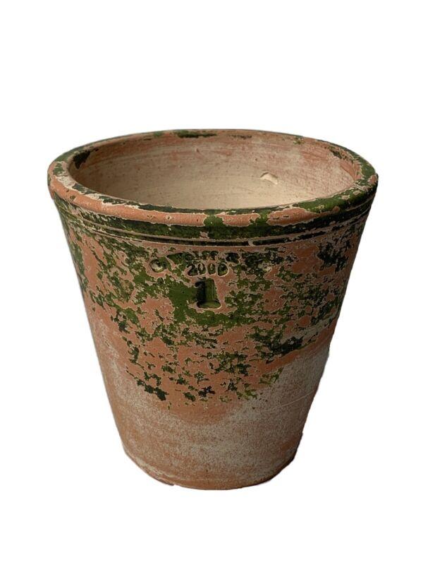 Vintage Guy Wolff & Co. 2000 #1 Terracotta Flower Pot