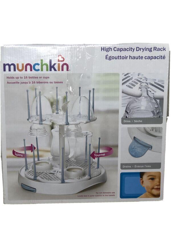 Munchkin Baby Bottle Drying Rack | High Capacity - 16 Bottles or Cups