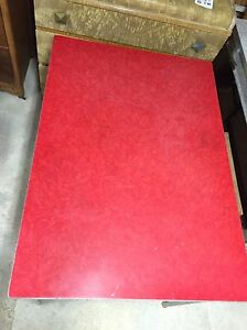 Formica Tables Red and Grey London Ontario image 9