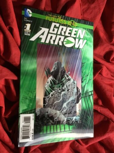 GREEN ARROW FUTURES END #1~LENTICULAR 3-D VARIANT~DC COMICS BOOK~1st PRINT