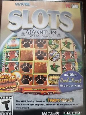 WMS Slots Adventure War For Olympus PC Games Window 10 8 7 XP Computer Games NEW ()