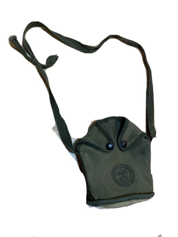 Vintage WWII Style Boy Scouts Of America Canteen Pouch