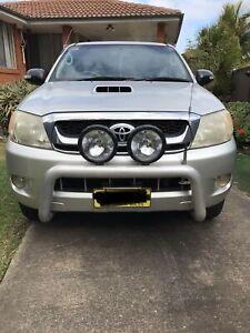 2005 Toyota Hilux Sr5 (4x4) 4 Sp Automatic Dual Cab P/up