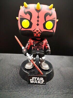NO BOX Funko Pop Darth Maul Star Wars Rebels Smugglers Bounty Exclusive #165