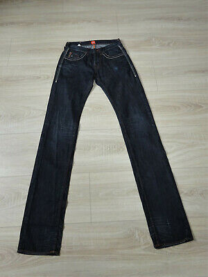 Schrittlänge Jeans (Jeans  (Unisex) von BOSS Orange  Größe: W30    Schrittlänge  103 c   dunkelblau)