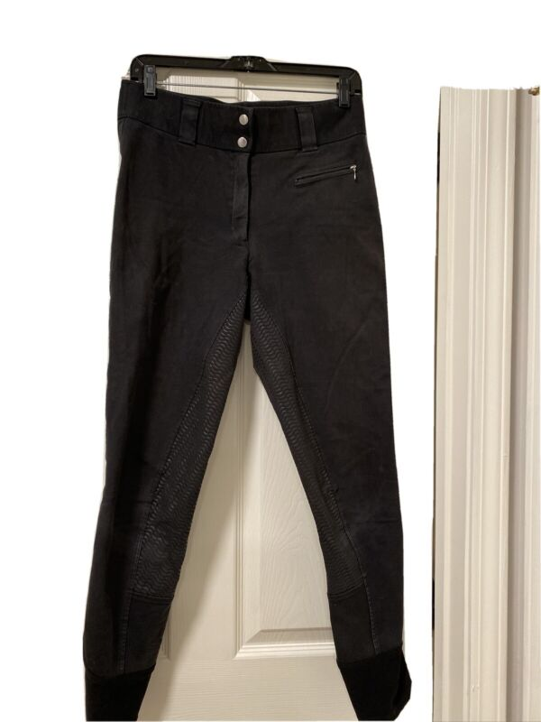 Dover Saddlery black, womens full seat breech, size 30