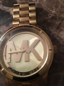 MK watch, all stainless steel