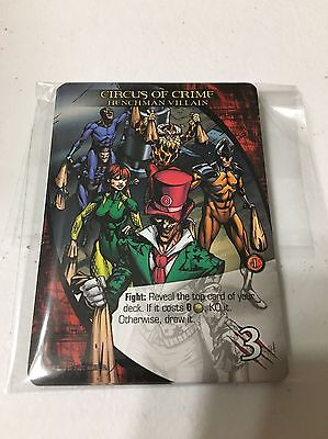Upper Deck Marvel 3D Circus of Crime 10 card Lot