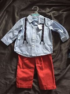 Children's place outfit new with tags 12mths