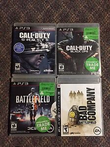 PS3 GAMES FOR SALE! Very inexpensive! Only $5 each