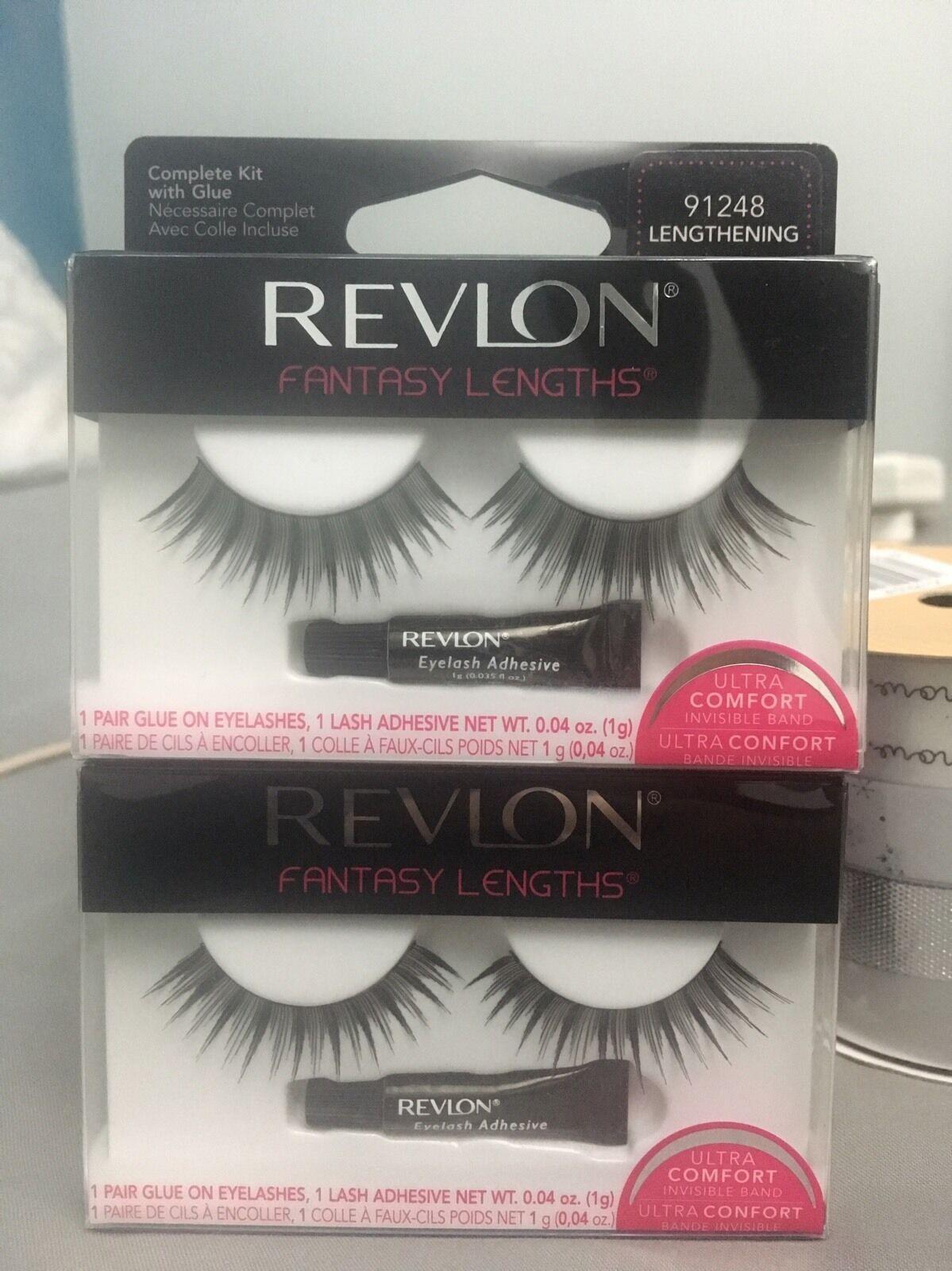 2 X Revlon Beyond Natural Runway Eyelashes Free Delivery 379