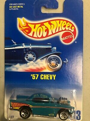 Hot Wheels 1991 '57 Chevy #213 NEW