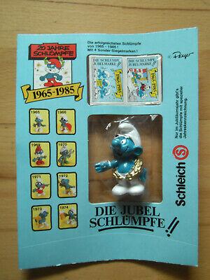 Die Jubel-Schlümpfe 1985 - Schleich Figuren-Sonderserie Schlumpf von 1979 OVP
