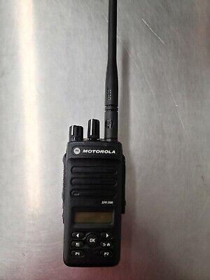Motorola Xpr3500 Vhf Radio W Battery Mototrbo Digital