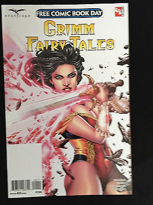 Free Comic Book Day Fcbd 2017 Grimm Fairy Tales Nm  Zenescope  Unstamped