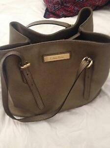 Ladies Calvin Klein bronze handbag! Arncliffe Rockdale Area Preview