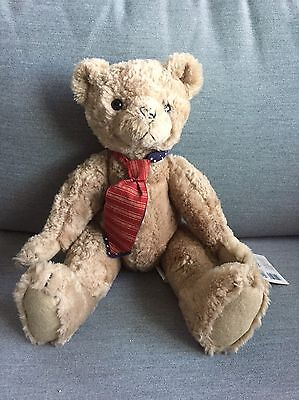 Teddy Bear/Theodore Roosevelt, Hallmark, Moveable Parts, 1997, Fathers Day