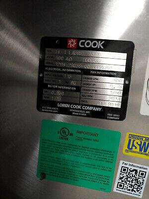 Loren Cook Centrifugal Exhaust Ventilator Fan