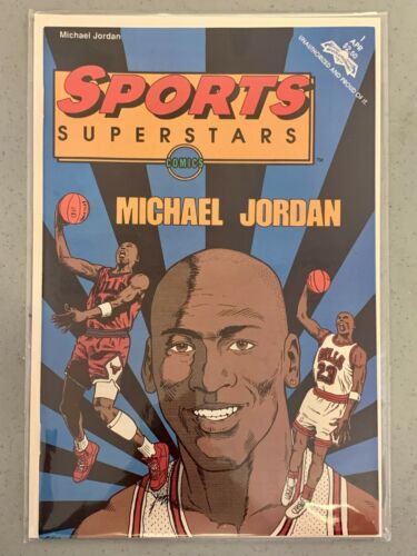 1992 Michael Jordan Sports Superstars Comic Book Revolutionary Comics Brand New