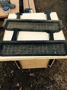MINT condition 2003 jeep tj running boards