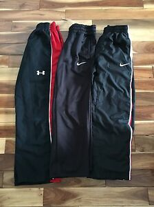 Boys athletic pants, Nike and under armor