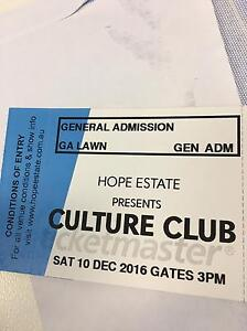 Culture Club (2 tickets) Campbelltown Campbelltown Area Preview