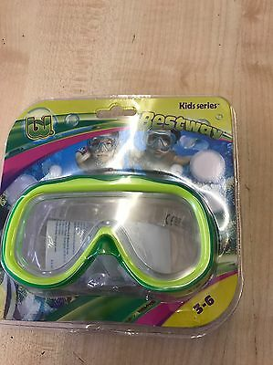 brand new Best way Kids Snorkel Mask (colour may