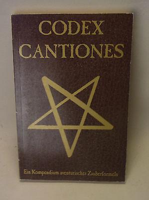 DSA Das Schwarze Auge Buch CODEX CANTIONES Pen & Paper Rollenspiel
