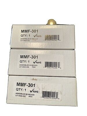 Lot Of 3 - Fire-lite Mmf-301 Monitor Modules -new