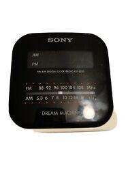 Sony ICF-C120 Dream Machine Alarm Clock AM/FM Radio - Tested 2.A4