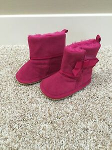 Hot Pink Uggs Style Boots