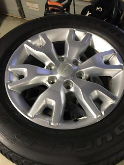 Ford ranger wildtrak rims and tyres 4wd