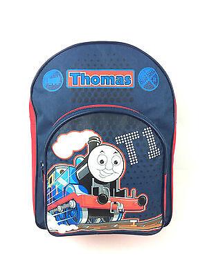 THOMAS THE TANK ENGINE  BOYS BLUE RED NURSERY SCHOOL BACKPACK RUCKSACK BAG NEW