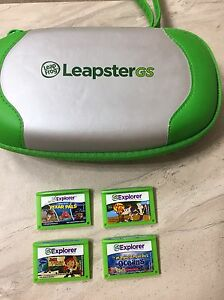 Leapster Case and Games