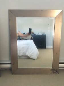 Two large wall mirrors - $30 each