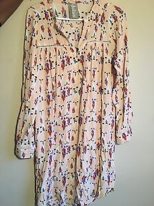 Dolan pink motif wanderlust dress size L for $40
