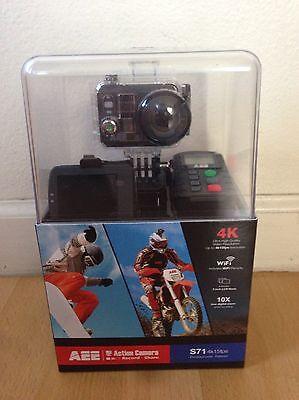 AEE S71 Action Camera 4k WIFI Waterproof - New in Unopened box