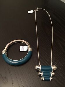 REDUCED-Lia Sophia necklace and bracelet