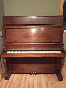 Solid wooden piano