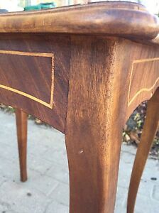 Decorative all wood side or end table Kitchener / Waterloo Kitchener Area image 3