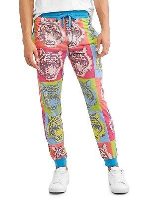 Tiger Lounge Pants - Top Drawer jogger pants mens XL 40/42 pajamas tiger New sublimated lounge W5
